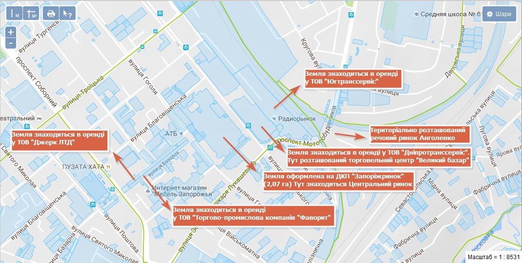 Карта Анголенко